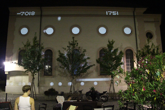 mayer+empl . KW . interactive light sculpture . passau . 2014