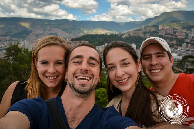 Friends in Medellin