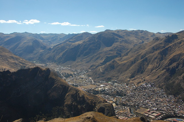 Views from Hike to Mina Santa Barbara, Huancavelica, Peru