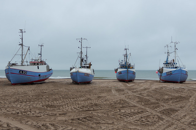 Thorupstrand Fishing Ships