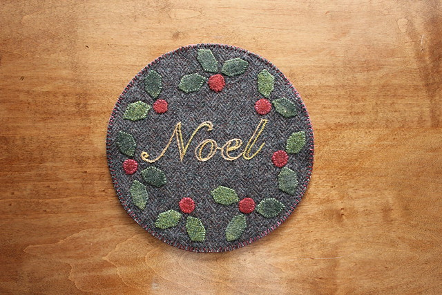 Noel Mug Mat