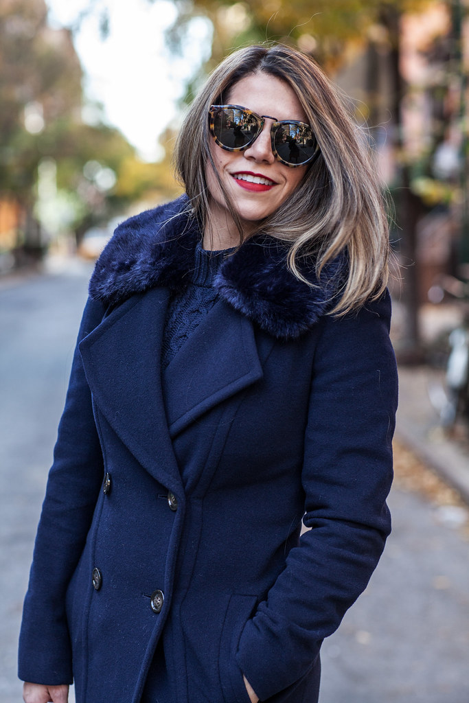 lord and taylor giveaway double breasted fur collar coat joie olivia boots karen walker harvest sunglasses jcrew downing grey tote roses new york blogger corporate catwalk blogger