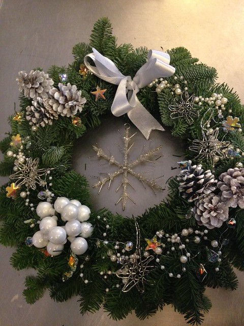 jane packer swarovski wreath