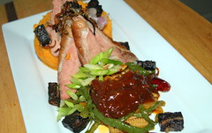 Gressingham Duck Breast, Carrot and Swede Mash, Bl…
