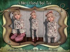 {LBM} Floral Boi Tux Ad
