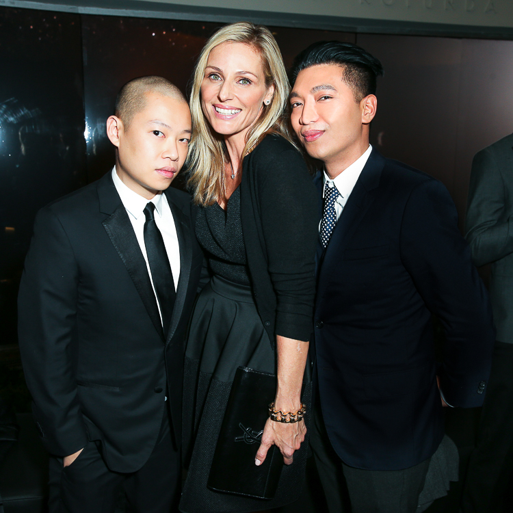 Jason Wu, Jamie Tisch and Bryanboy attends the Hugo Boss Prize 2014 Event at the Guggenheim Museum New York