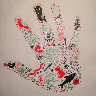 Week 49 - Trace Your Hand