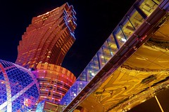 Grand lisboa,Macau and reflection