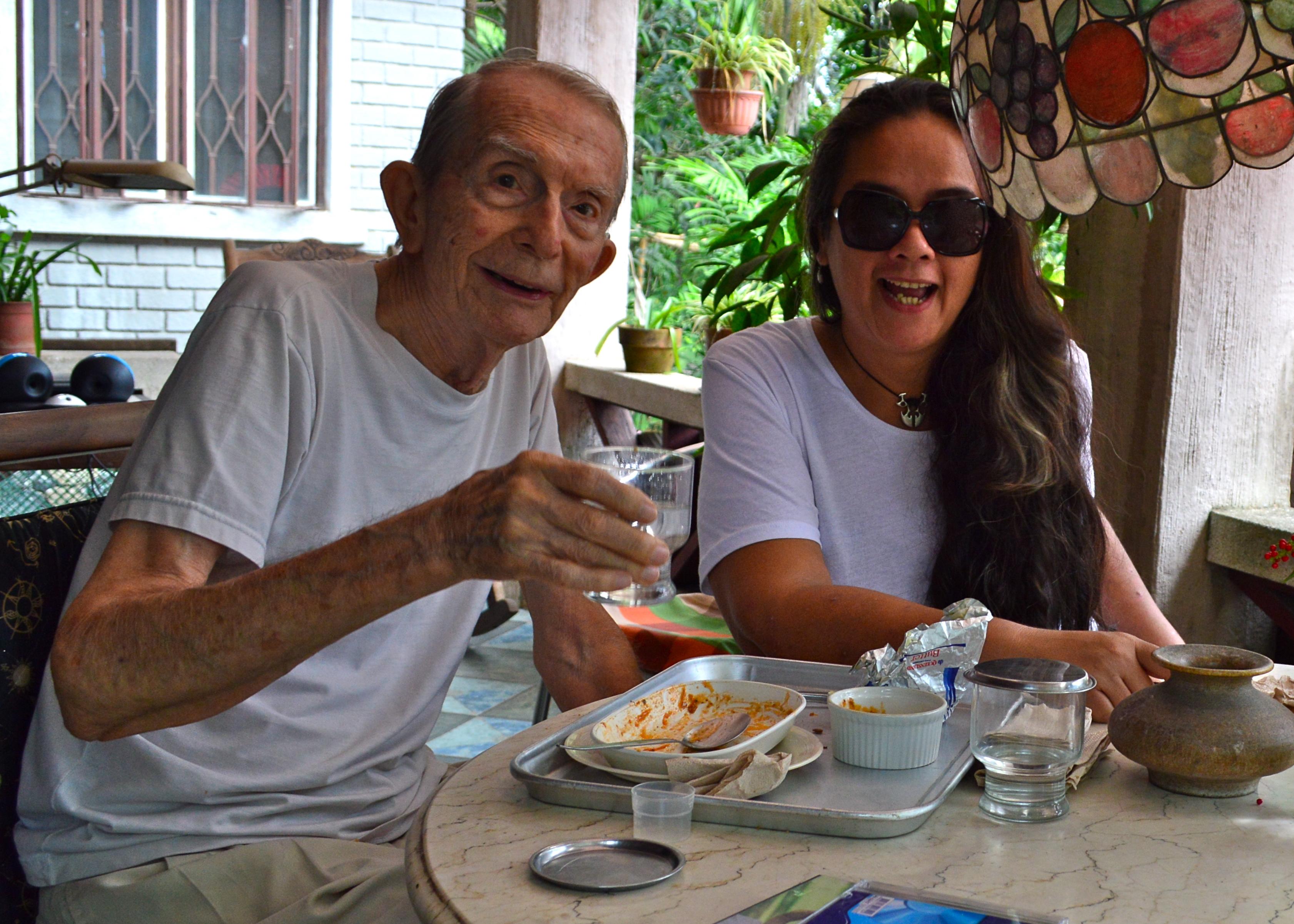 breakfast mit meinem alten Mann