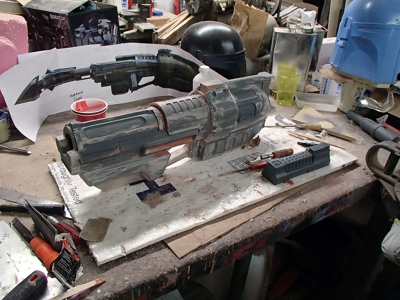 Harpoon Gun Parts Nearing Completion