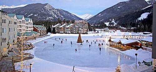 Keystone Village ice rink