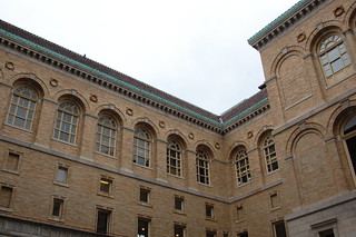 Boston Public Library Courtyard