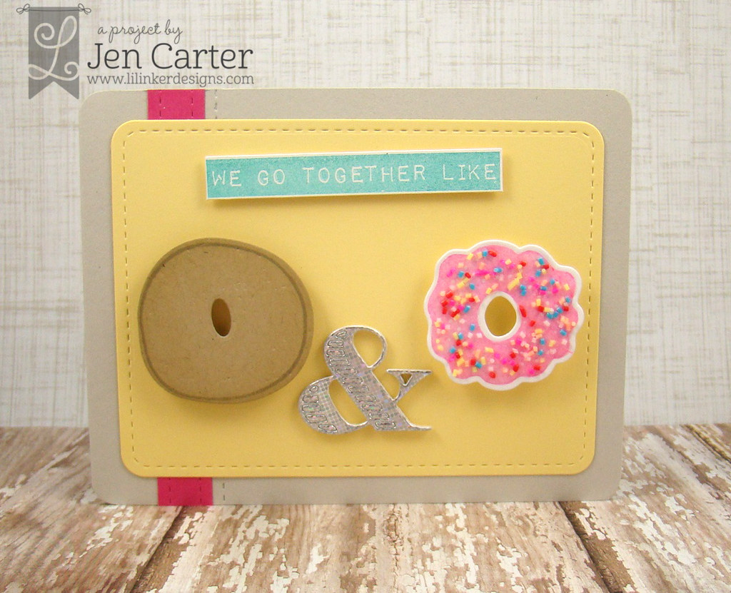 Jen Carter LID We Go Together Donut Icing WM