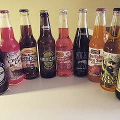 One of my favorite things to do in the US: buy crazy sodas...