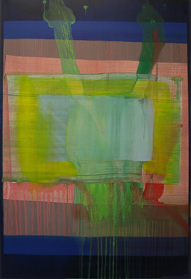 Felix Bucklow Freeway ii Acrylic Canvas 1200x800mm 2014