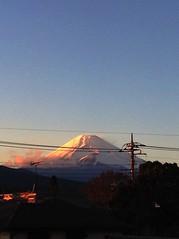 Sunset Mt.Fuji 富士山 12/13/2014