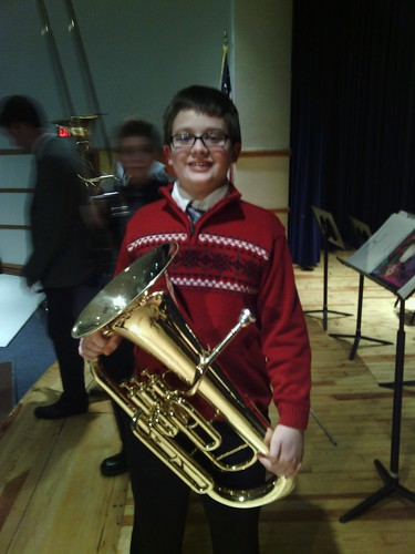 Dec 17 2014 Clark 6th grade band concert (3)