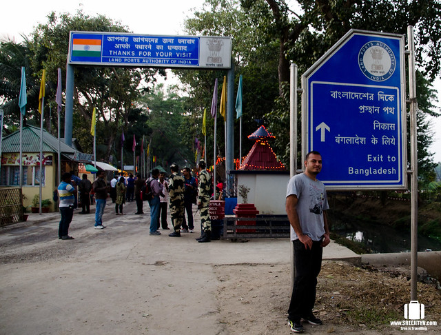 India-Bangladesh border, Akhaura, Agartala