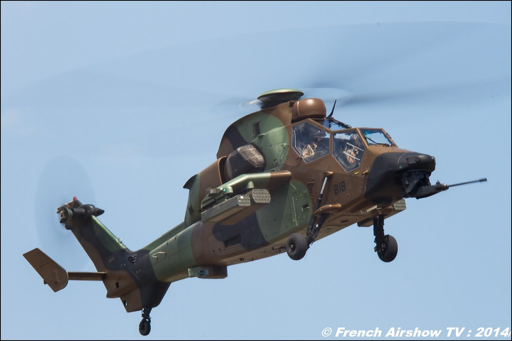 EC-665 Tigre,EC 665 ,Solo display, Airbus Helicopter Meeting des 60 ans de l'ALAT 2014 ,Cannet des Maures