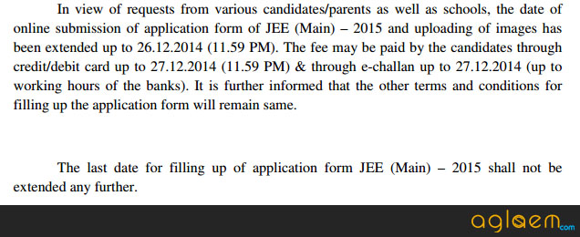 JEE Main 2015 Application Form Online   Apply and Check Status   jee main  Image