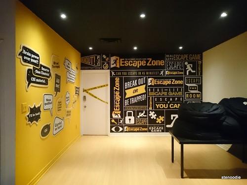 My 7th escape room game escapezone spadina college for Escape room design