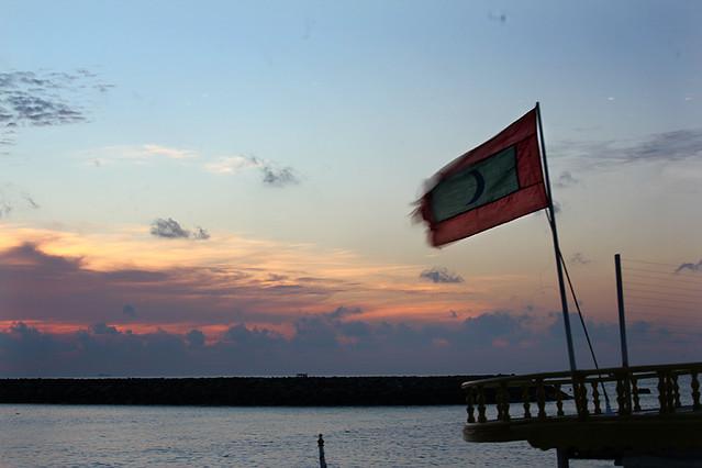 National flag - Maldives