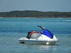 Jet Ski in Blue
