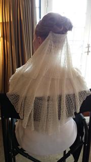 Nicki's Wedding Veil