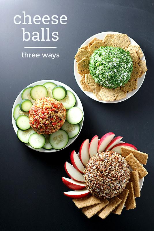 Cheese Balls Three Ways | girlversusdough.com @stephmwise