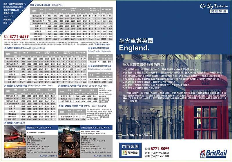 火車遊歐洲-飛達旅遊火車通行證-8