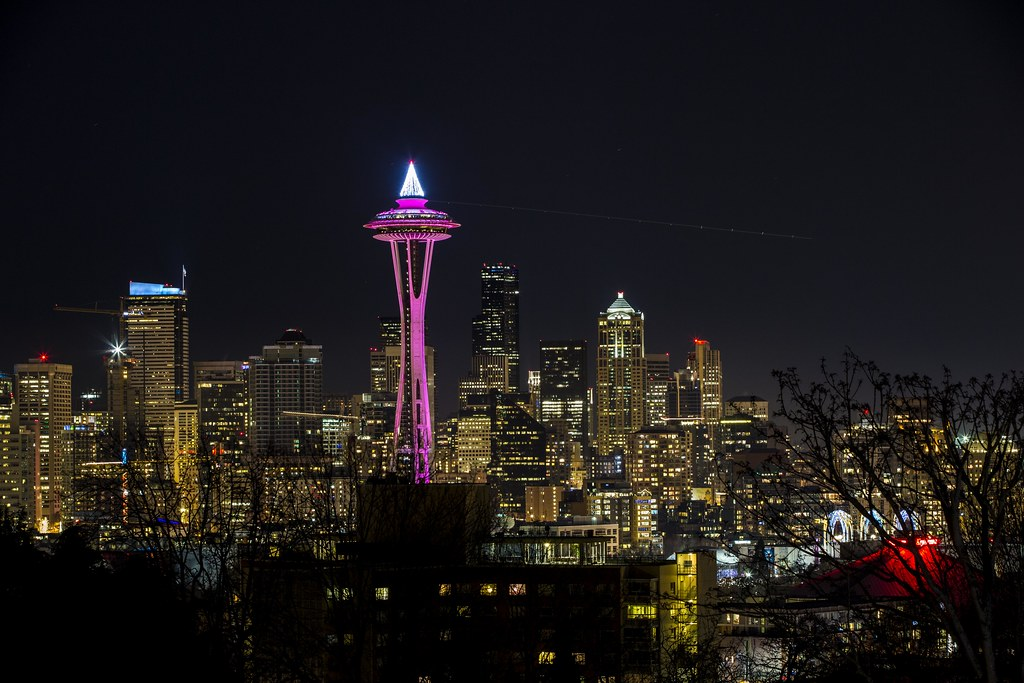 New Years Eve, Seattle