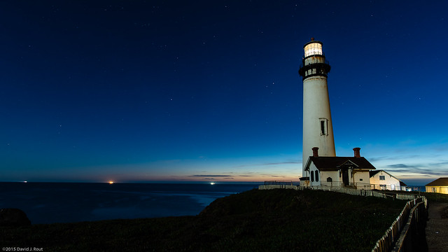 Pigeon Point by Moon Light