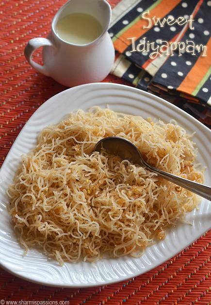 Sweet Idiyappam Recipe