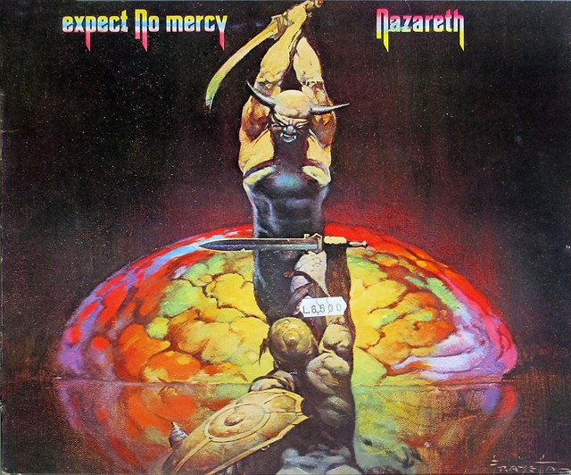 Обложки expect no mercy (1977)