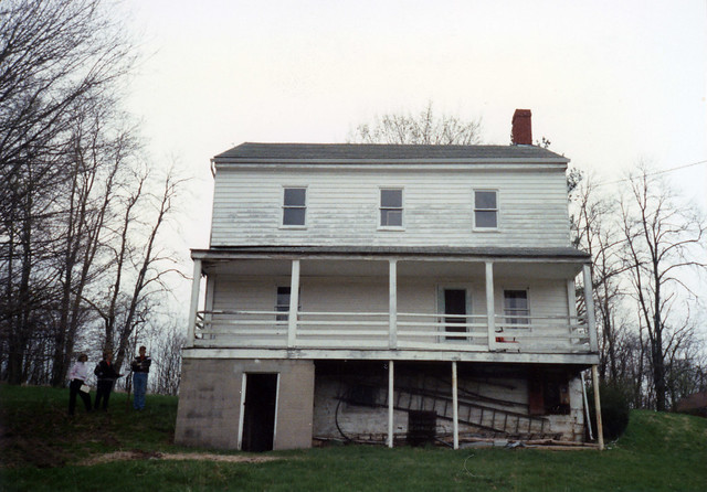Jacob Coy Log House — Beaver Creek Township, Greene County, OH