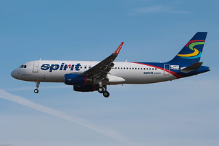 A320-232 Spirit Airlines MSN6424 F-WWDV (N636NK) - TLS