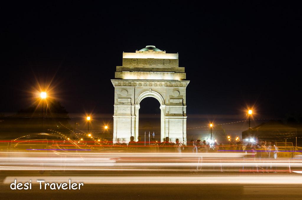 India Gate evening