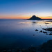 Dusk at St. Michael's Mount, Cornwall by Kenneth Cox