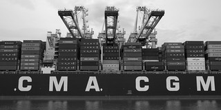 Container ship - Port 2000 - Le Havre
