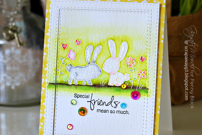 Special Friends card #1 closeup