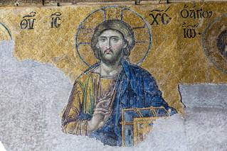 Deësis mosaic (Hagia Sophia)