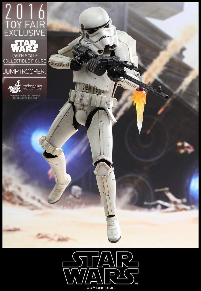 Hot Toys - VGM23 - 《星際大戰:戰場前線》1/6 比例 飛行背包帝國風暴兵 Star Wars Battlefront Jumptrooper