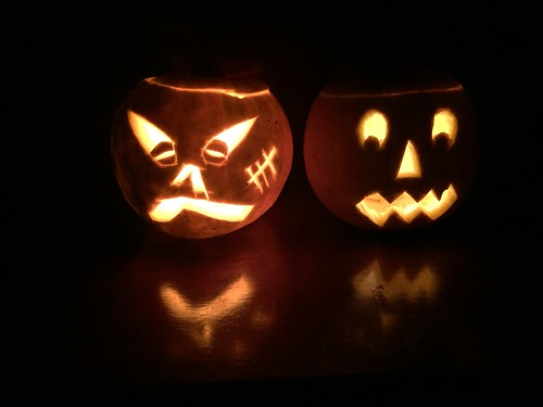 Halloween Pumpkin Carving 2014