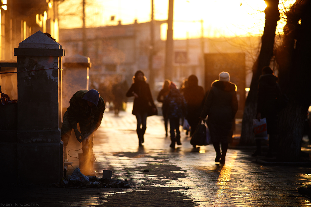 Закат, Барнаул