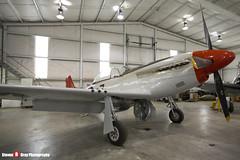 N551D 44-14826 - 1364 - Private - Commonwealth CA-17 Mustang 20 - Tillamook Air Museum - Tillamook, Oregon - 131025 - Steven Gray - IMG_8089