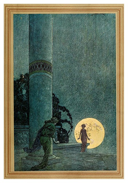005-Flying Islands of the Night- 1913- ilustrado por Franklin Booth