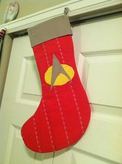 Star Trek Stocking