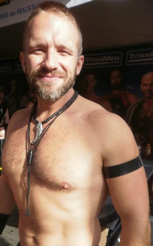#81 in ADDA DADAs TOP 100 GAY PORN STARS ! (safe photo) DIRK CABER TITAN MAN...