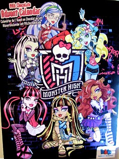 Monster High advent calendar 2014