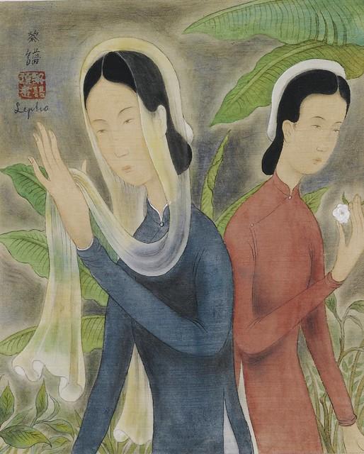 Le Pho (1907-2001) - LES DEUX SOEURS (TWO SISTERS)